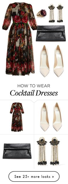 """#PolyPresents: Party Dresses"" by caitlynmeyermua on Polyvore featuring Francesco Russo, Etro, Dolce&Gabbana, Marc Jacobs, contestentry and polyPresents"