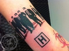 Reservoir dogs tattoo. I wouldn't ever get this but I love it!