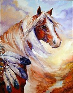 """Spirit West"" par Marcia Baldwin"