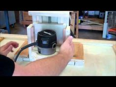 Router Table & Router LIft