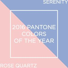 The PANTONE color of the year for 2016 is rose quartz & serenity! These colors look great with navy, fig, grey and shades of peach! Check out our favorite wedding color combos at willowdaleestate.com