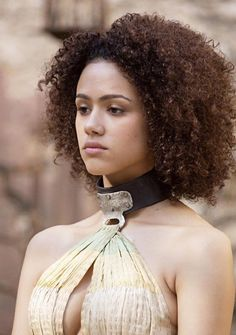 "Nathalie Emmanuel (Missandei from ""Game of Thrones"")  T: missnemmanuel"