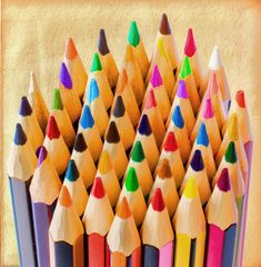by Susan van Wyk Art Supplies, Triangle, Pencil