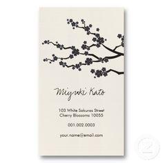 Oriental Asian Yellow Sunrise Bamboo Leaves Zen Business Card ...