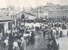 Mercado da Ribeira Velha, 1890