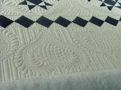 border quilting..love the heart