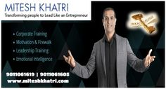 Mitesh Khatri truly stands out in his performance of that of a corporate trainer, motivational speaker and leadership trainer. He doles out the most inspirational speeches and messages which holds the power to bring transformation in individuals as well as in the enterprise looking to evolve and revive the base of their work culture.