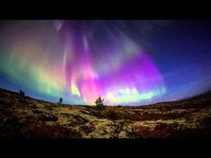 Previous pinner: Полярное сияние 13.09.2014 (Aurora Borealis 2014) HD - YouTube. Me: Wonderful video! I'm not sure, since I've never witnessed an aurora in real life, but I think this is not time-lapse, but simply the way a shifting aurora dances across the sky. Cold? Who's cold, when there's an awesome show like this to watch?!
