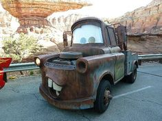 Mater at Cars Land at Disneyland California Adventure (Jennifer Miner)