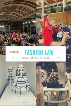 "Whenever I mention fashion law, people are like, ""What's that?"" ""Fashion law, is that real?"""