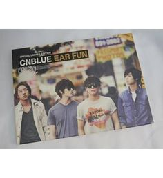 This is CNBLUE's Special Limited Edition Ear Fun album, Jungshin version. It comes with CD and DVD and is in a like new condition.