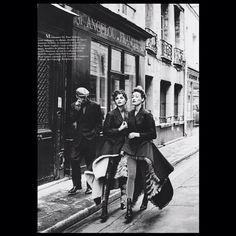 Hair by #OdileGilbert #MarieSophieWilson #HelenaChristensen and #LionelVermeil #Photo by #PeterLindbergh #styled by #BabethDjian for #VogueParis
