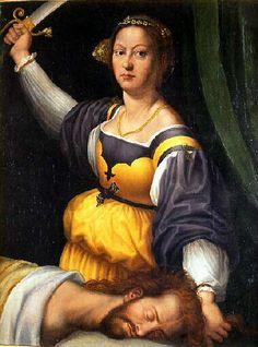 """Judith et Holophernes"" Giuliano BUGIARDINI (d'après)"