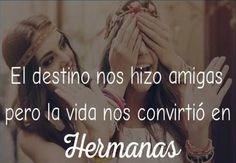 mejores amigas fatima y maryam Bff Quotes, Qoutes, Love Quotes, Inspirational Quotes, Best Friends Forever, My Best Friend, Just Girly Things, More Than Words, Spanish Quotes