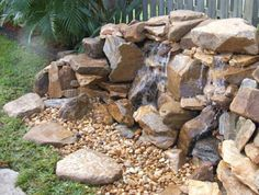 Drop Pondless Waterfall - this is THE ONE!!  I want to put this up against our fence