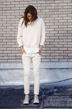 All #white everything. #Summer #Clean