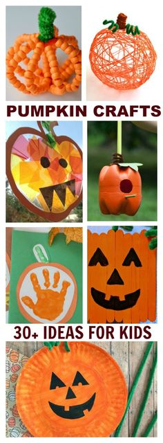 30+ PUMPKIN CRAFTS & ACTIVITIES FOR KIDS