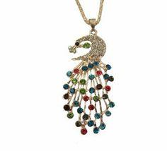 jewelry 3fashion fashion jewelry 2014 Peacock-Necklace