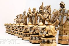 My Harry Potter Wizards' Chess Set Makeover