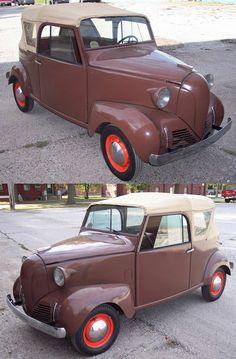 1939 Crosley Sedan Convetible