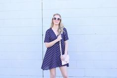 Brooke-Lyn Edmonds | Blog | Spring Into Spring #spring #dress #floral #cute #pretty #fun #flirty #date #blue #navy #white #flowers #ootd #outfit #inspiration #inspo #love #ideas #copy #outfits #look #blonde #hair #style #fashion #blog #blogger #personal #street