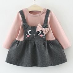 The Critter Jumper Dress girl fashion fashion kids styles swag diva girl outfits girl clothing girls fashion Toddler Girl Style, Toddler Girl Dresses, Toddler Outfits, Baby Outfits, Kids Outfits, Toddler Girls, Dress Girl, Baby Girls, Newborn Boys