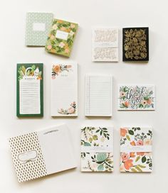 Beautiful collection from Rifle Paper Company -