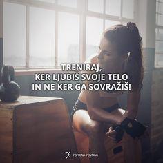 Le tako boš užival v tistem, kar počneš, rezultati pa bodo še boljši! ;)