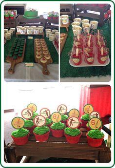 Jaime S's Birthday / Cricket Party Theme - Photo Gallery at Catch My Party Cricket Birthday Cake, Cricket Theme Cake, Cupcake Birthday, Birthday Party Themes, Boy Birthday, Birthday Ideas, Holiday Fun, Theme Ideas, Party Ideas