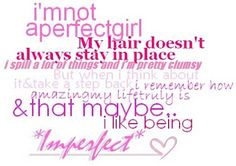 Pictorial Quotes: Imperfect