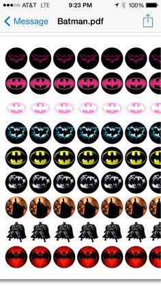 Batman Bottle Cap Images