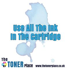 If you get a warning message that your ink is low, don't be so quick to replace it as you will still be able to print pages. If your printer refuses to print until you replace the ink then head over to www.thetonerplace.co.uk to buy your replacement.