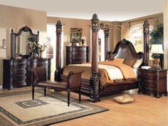 King Bedroom Sets Wooden