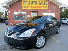 2012 Nissan Altima Asking Price: $11,495 Black/Black Miles:62,979 2.5L 175.0hp 4 Cylinders Automatic Transmission For More Information of this vehicle Visit our webpage http://www.usedcarsindfw.com/…/2012-Nissan-Altima-4dr-Sdn-I… Give us a Call at 972)542-4880 Hablamos Espanol