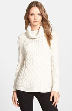 cupcakes and cashmere 'Sleepy Hollow' Turtleneck Sweater available at #Nordstrom