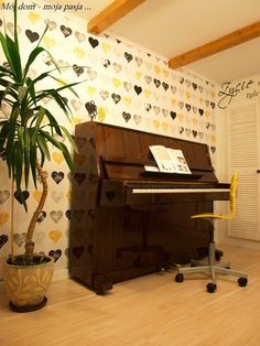 Mój dom - moja pasja ...: Pokój muzyczny