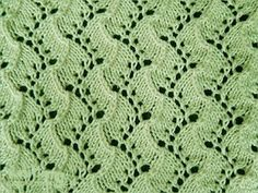 Traveling Vine - knitting in the round Knitting Squares, Lace Knitting Stitches, Lace Knitting Patterns, Knitting Charts, Lace Patterns, Knitting Socks, Stitch Patterns, Knit In The Round, Knit Crochet
