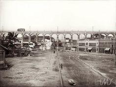Arcos da Lapa, Rio de Janeiro, 1905 (Foto: Marc Ferrez)