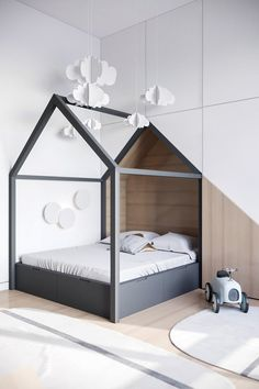 Pick More Princely Scandinavian Interior Bedroom Beds 24 Bed Ideas For Scandinavian Bedroom If you're searching for a traditional Scandinavian design from interior dec. Kids Bedroom Designs, Kids Room Design, Design Bedroom, Scandinavian Interior Kids, Scandinavian Baby, Deco Kids, Home Living, Bedroom Decor, Bedroom Ideas