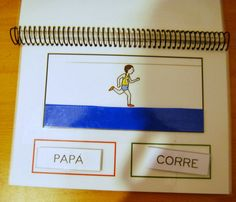 El baúl de A.L: Materiales de elaboración propia - partner activity - one makes sentence, other places pictures. Then share with group with another story Spanish Activities, Learning Spanish, Learning Activities, Kids Learning, Montessori, Bilingual Classroom, Communication, Interactive Notebooks, Speech And Language