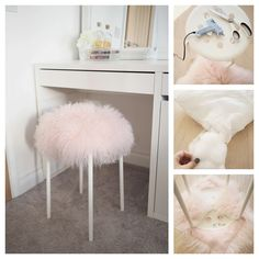 Marius stool - stylish ikea diy hacks you need to try on a tight budget. Ikea Stool, Diy Stool, Ikea Bedroom, Diy Bedroom Decor, Home Decor, Ikea Furniture, Bedroom Furniture, Furniture Ideas, Furniture Market