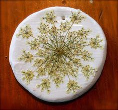 Twig and Toadstool: Pressed Flower Ornaments