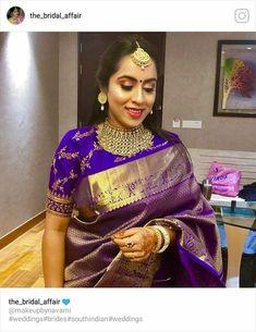 Silk Saree Blouse Designs, Saree Blouse Patterns, Saree Styles, Blouse Styles, Saree Dress, Sari, Elegant Saree, Soft Silk Sarees, Indian Designer Outfits