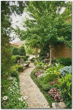There are many landscaping ideas that are high impact without a high price tag. Here's a landscape pictures few cheap landscape design to help you create a front yard landscaping and backyard landscaping ideas you'll enjoy. Courtyard Landscaping, Front Yard Landscaping, Landscaping Ideas, Acreage Landscaping, Backyard Ideas, Rustic Backyard, Hydrangea Landscaping, Landscaping Edging, Modern Backyard