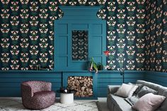 The Spring Edit: My New Favourite Discoveries For My Home — MELANIE LISSACK INTERIORS London Design Week, Wallpaper Wall, Luxury Interior, Interior Design, Serene Bedroom, Latest Wallpapers, Cole And Son, Designer Wallpaper, Wallpaper Designs