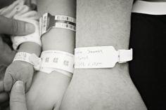 "Fantastic ""hospital picture"" of the parents & newborn!"