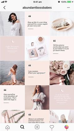 Beautiful logos, web design kits and watercolors by SwitzerShop Instagram Design, Layout Do Instagram, Instagram Hacks, Photo Pour Instagram, Insta Layout, Feeds Instagram, Instagram Grid, Story Instagram, Instagram Themes Ideas
