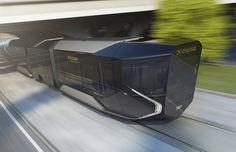 Details we like / Transportational / Tram / Subway / Futuristic / Glas / at plllus
