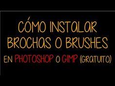 Cómo instalar brochas en Photoshop y GIMP-(gratuito)