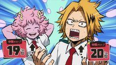 Ashido Mina & Kaminari Denki    Boku no Hero Academia